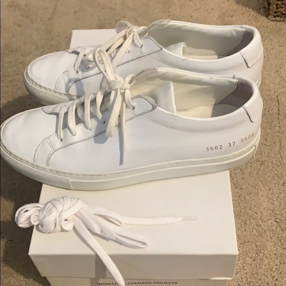 Common Projects Woman Size 37 Low White